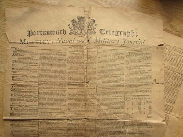 Portsmouth Telegraph or Mottley's Naval and Military Journal