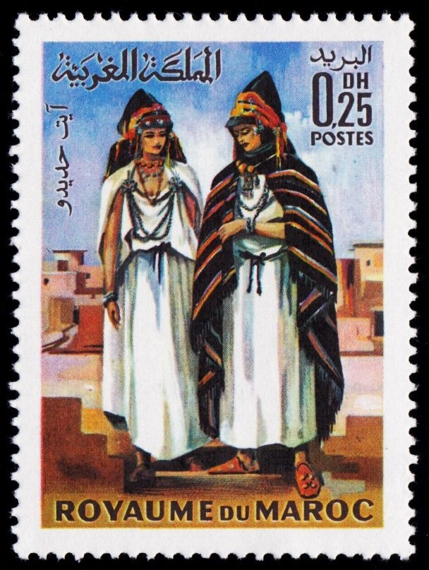 Morocco 1969 Traditional Costumes 2.jpg