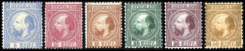 The 1867 issue of The Netherlands