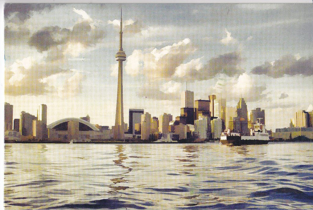 Lake Ontario with Toronto in the background