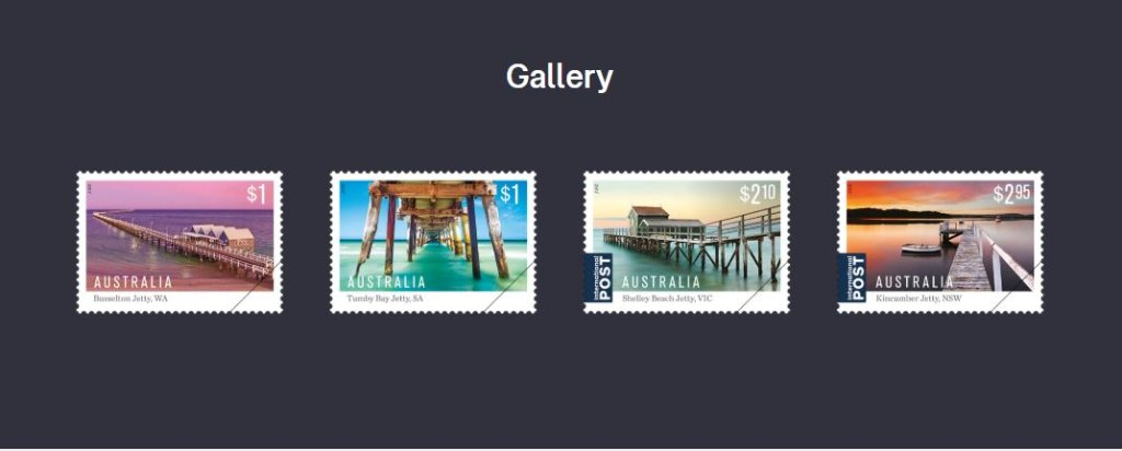Australia Stamp Issue - Australian Jetties 21 Feb 2017