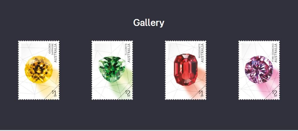 Australia Stamp Issue - Rare Beauties - Gems 30 March 2017