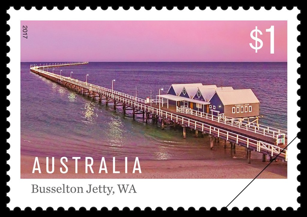 2017 Jetties - $1 Busselton