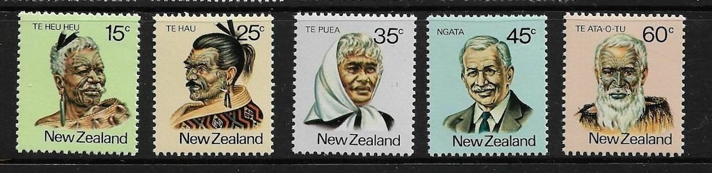 .<br />New Zealand, 1981, Māori leaders