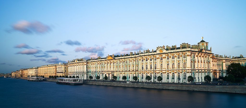 .<br />The State Hermitage Museum <br />— Hermitage Theatre, Old Hermitage, Small Hermitage and Winter Palace, <br />all part of the current museum complex
