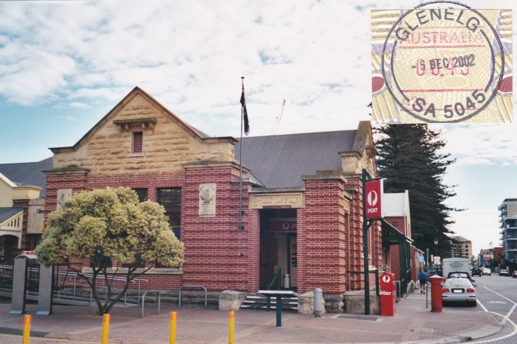 Glenelg SA Post Office. 2002. Peggy Hayes photo.
