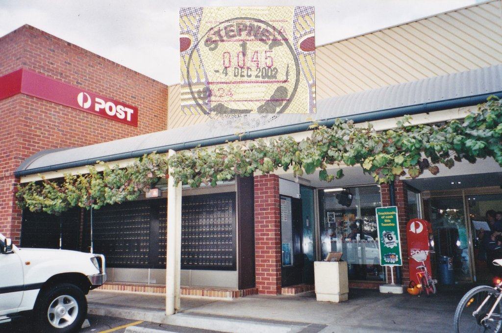 Stepney SA Post Office. 2002. Peggy Hayes photo.