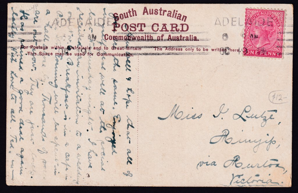 Adelaide Machine Cancel - 19th October 1913?