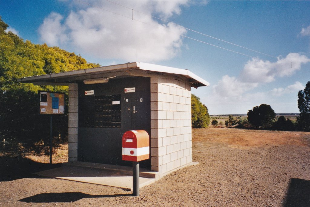Monarto South Post Office. 2002. Peggy Hayes photo.