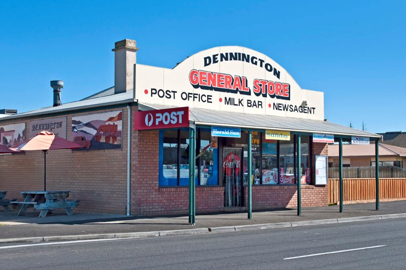 Dennington General Store and Post Office.