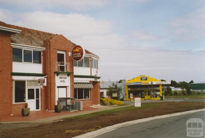 Junction Hotel and General Store/PO  Allansford. 2006.