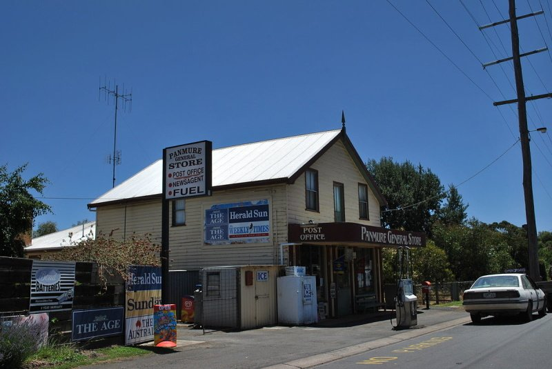 Panmure Post office and General Store. 2006
