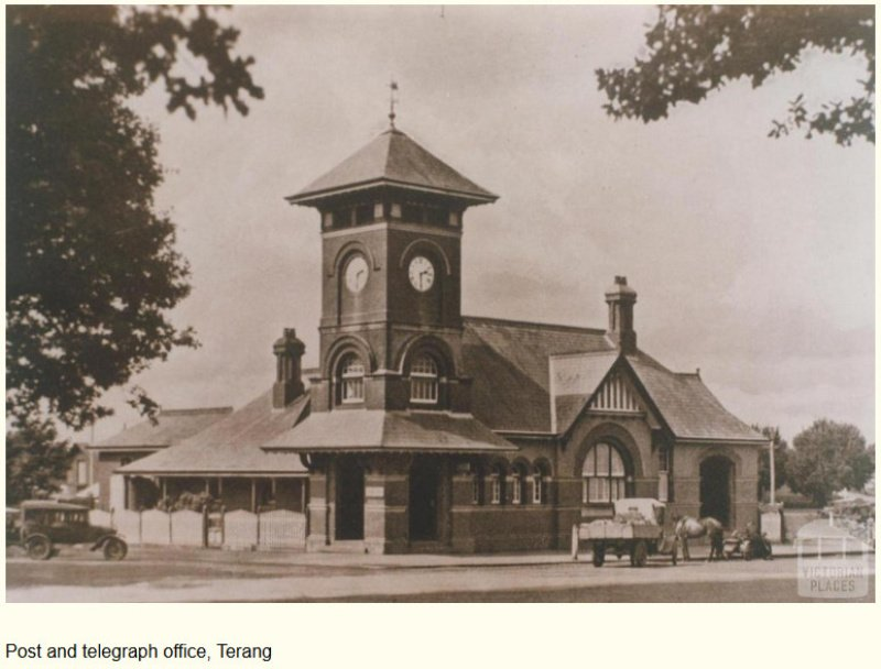 Terang Post office. c1930's ?