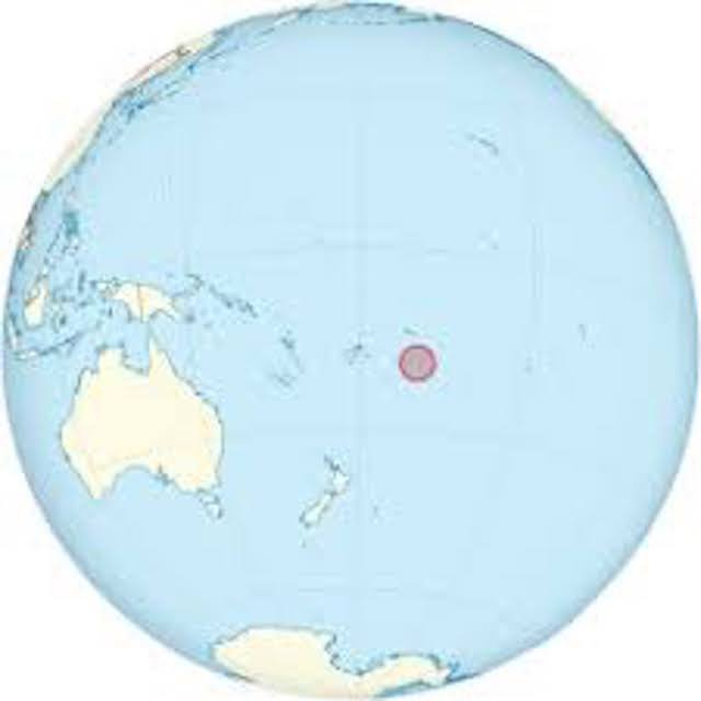 .<br />Relative location of Niue
