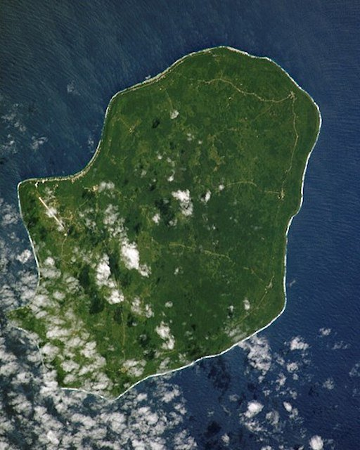 .<br />Satellite image of Niue