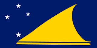 .<br />Flag of Tokelau