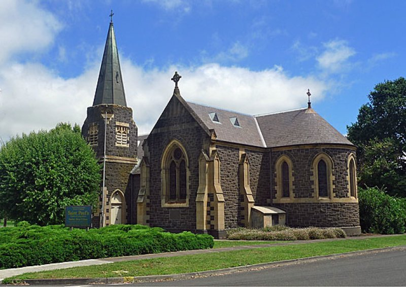 Local church. Camperdown VIC.
