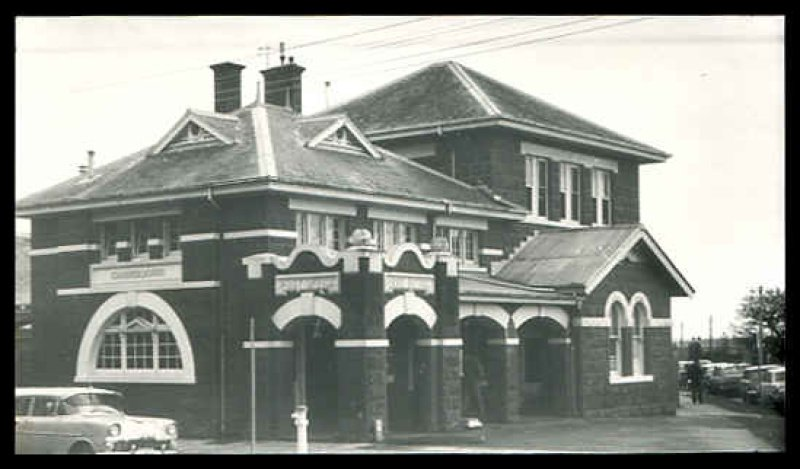 Camperdown VIC Post Office. 1970.