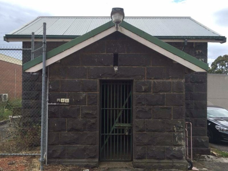 Old Police Lockup. Colac Victoria. The Sheriff was here.