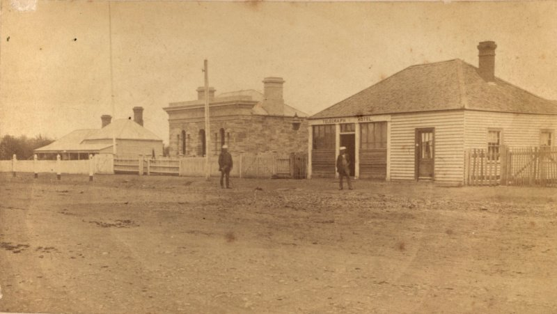 First Colac Post Office. c1900.