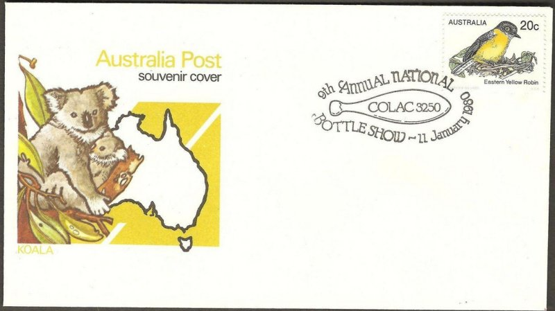 Special Pictorial Postmark on cover. 1980.