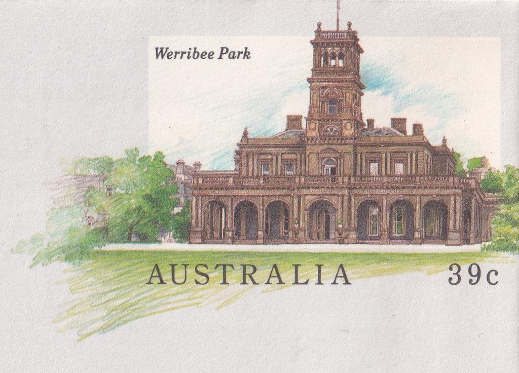 The Werribee Park Mansion