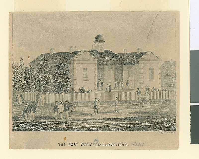 Melbourne's First Post Office