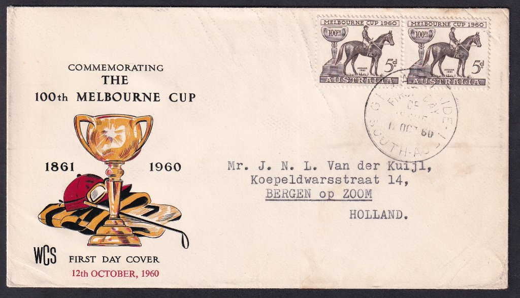 Aust fdc 1960 - Melb Cup - Adelaide to Holland 1.jpg