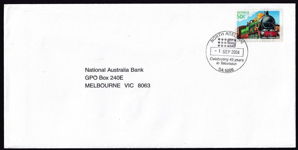 NWS Channel 9 45 years in Television in North Adelaide - 1st September 2004  (APM #36520)