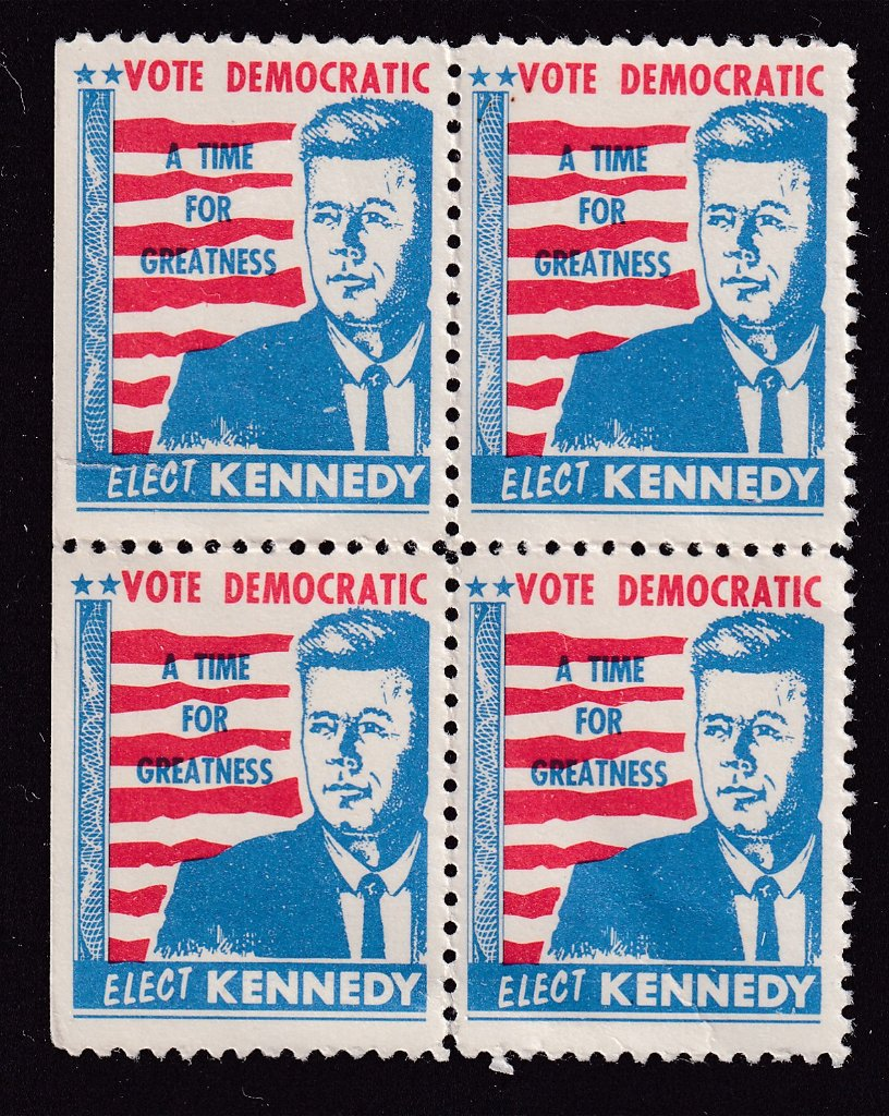 Elect JFK cinderella block of 4..