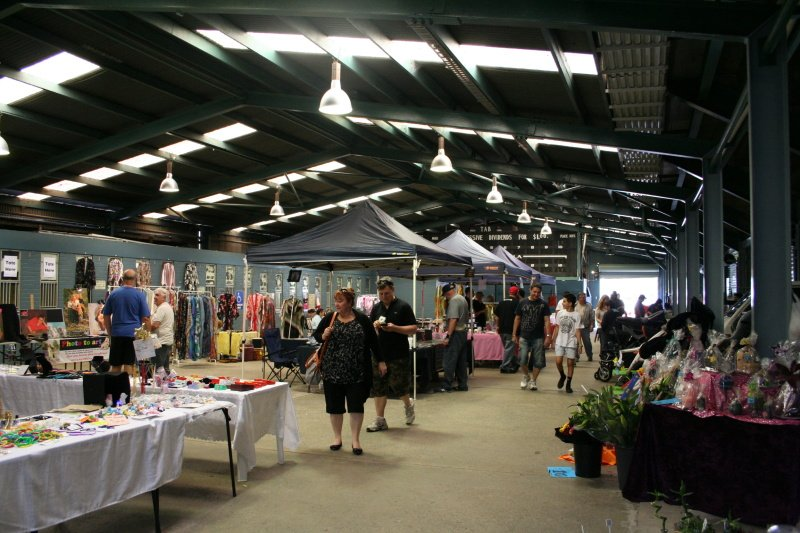 Dapto Showground Markets.