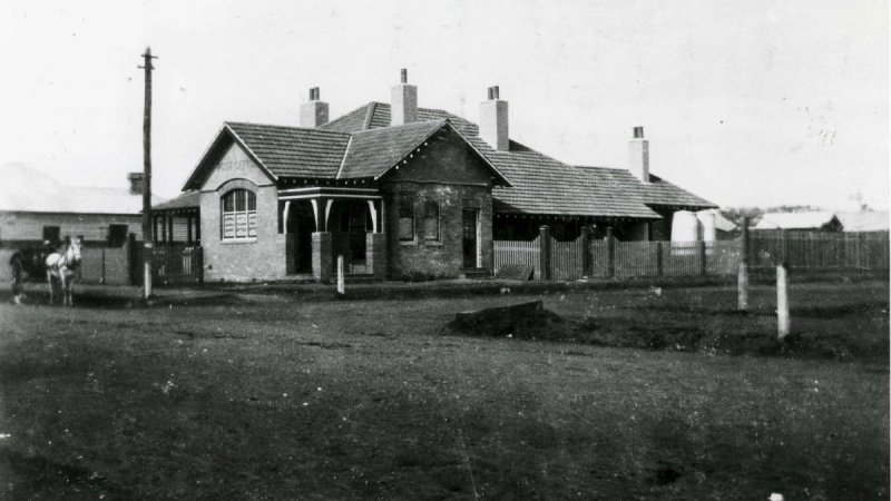 Dapto NSW Post Office. 1904.