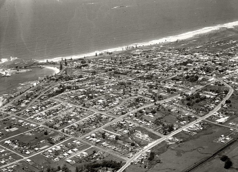 Wollongong from the air. 1937.