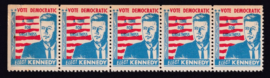 Elect Kennedy strip of five