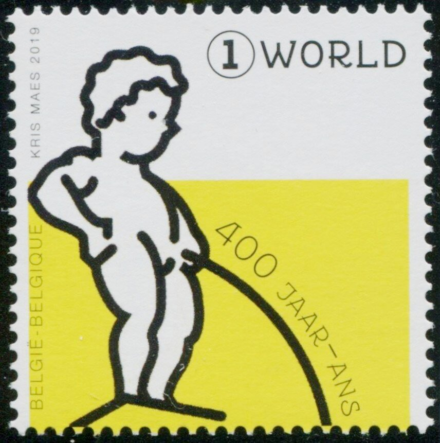 One of the stamps...