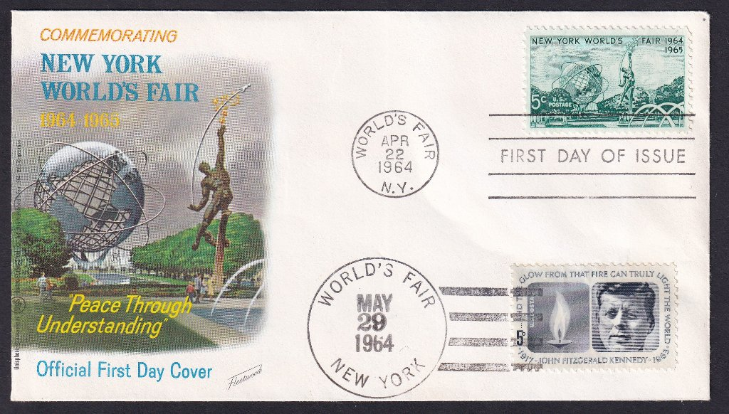 JFK FDC 1964 - NY Worlds Fair.jpg