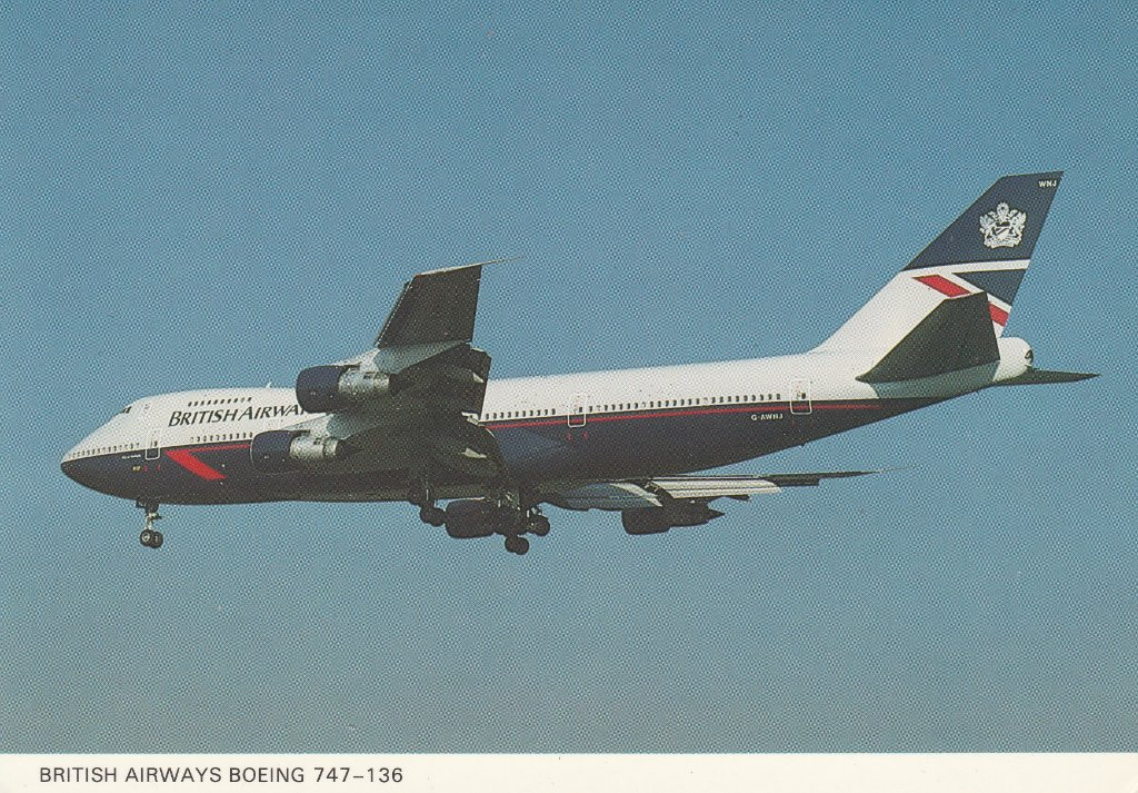 British Airways Boeing 747-136