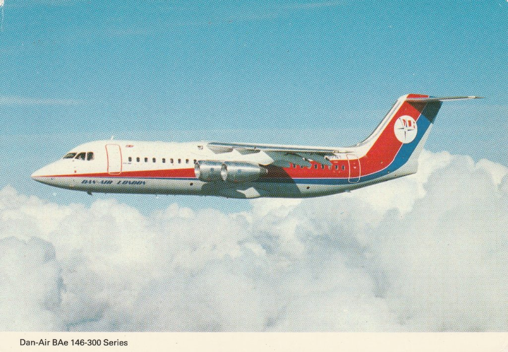 Dan-Air BAe 146-300 Series
