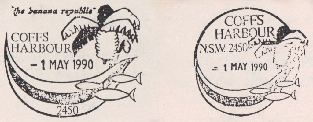 Coffs Harbour permanent pictorial postmarks