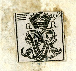 1790s KGIII cypher label