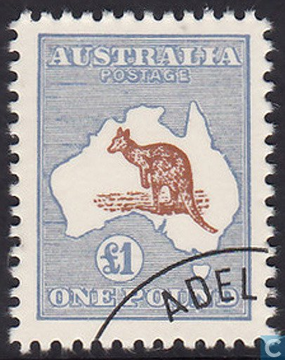 This is a Kangaroo rarity stamp, according to the LastDodo stamp geniuses