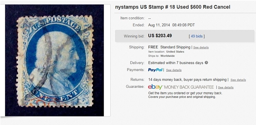 Clever Nystamps Great Britain Stamp # 25 Used $400 Stamps