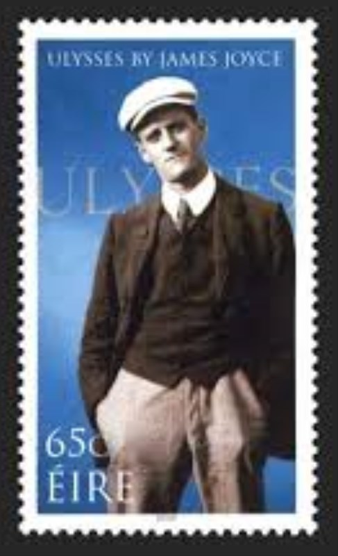 Image result for james joyce u.s. postage stamp