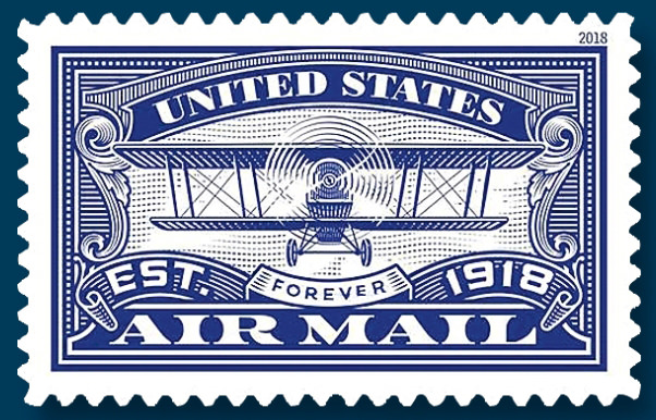 Url Linns News Us Stamps Postal History 2018 March Usps Two Airmail