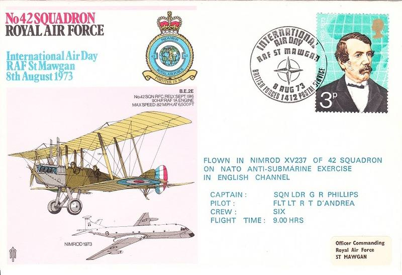 English Channel Nato Anti Sub Exercise Devoted Flown Cover Raf Nimrod