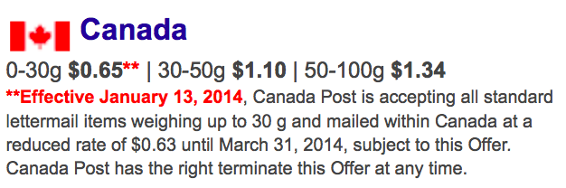 As You Can See CPC Acknowledges That The Current Lettermail Rate Is 65 Cents Therefore P Stamp Value Must Be