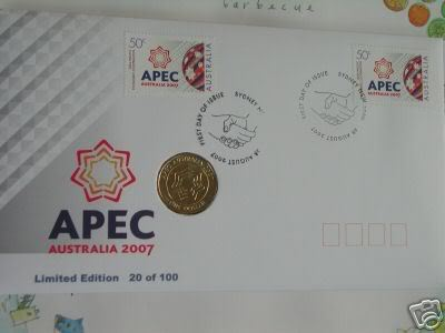SCARCE!!!! Australia 2007 $1 SAS Special Air Service PNC Cat $30